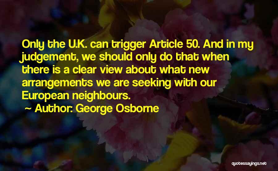 George Osborne Quotes 2193439