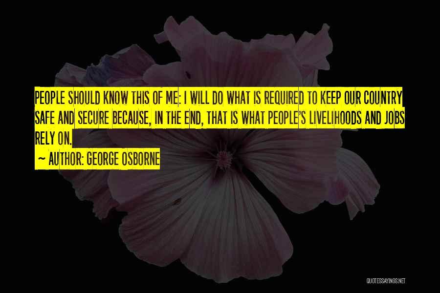 George Osborne Quotes 2243713