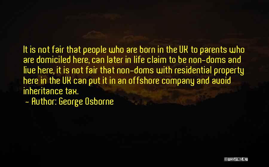 George Osborne Quotes 380511