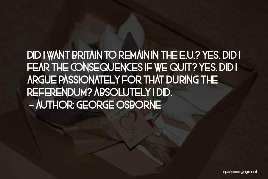 George Osborne Quotes 392166