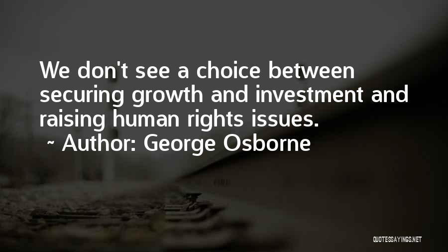 George Osborne Quotes 516656