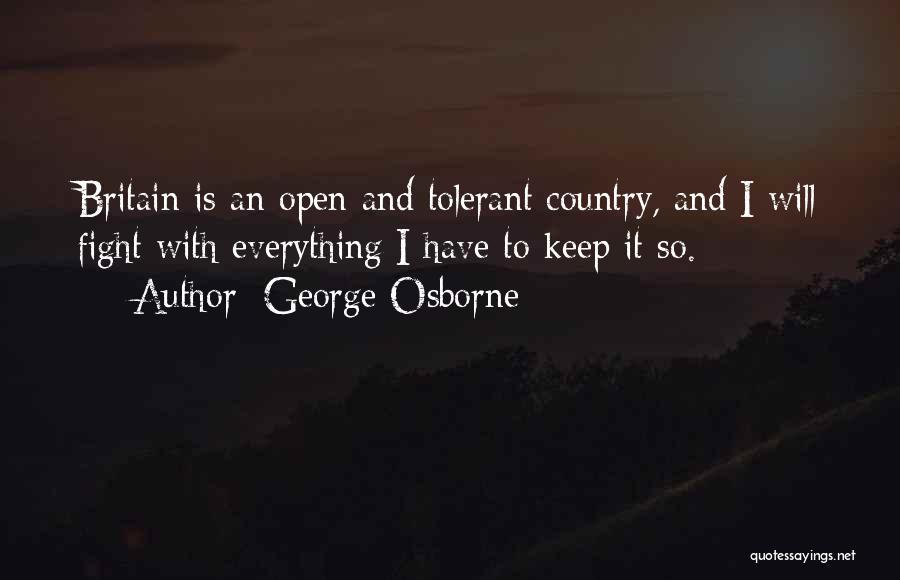 George Osborne Quotes 759896