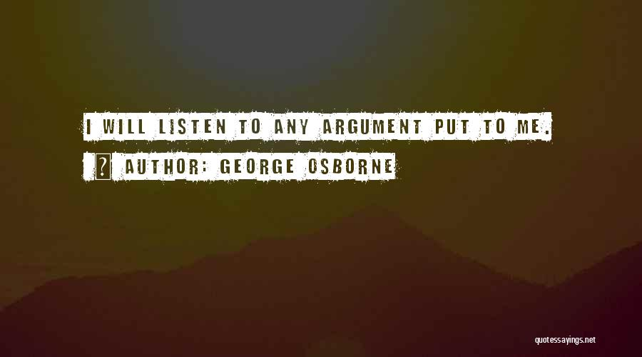 George Osborne Quotes 851682