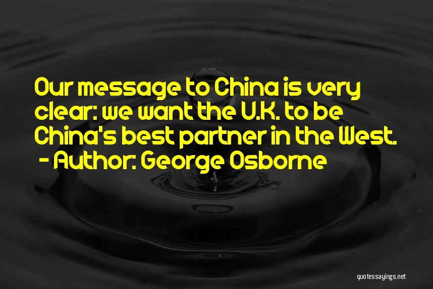 George Osborne Quotes 931085