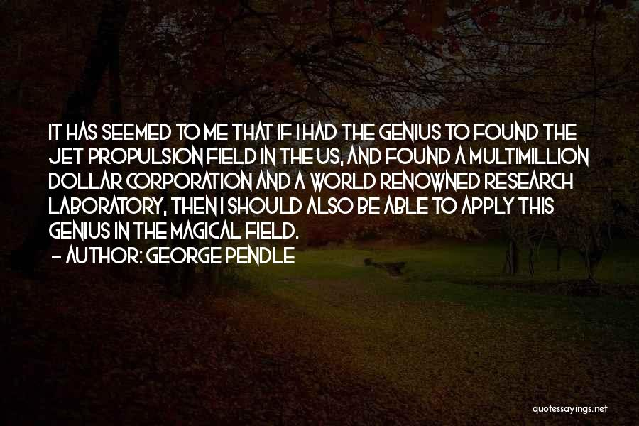 George Pendle Quotes 1863664