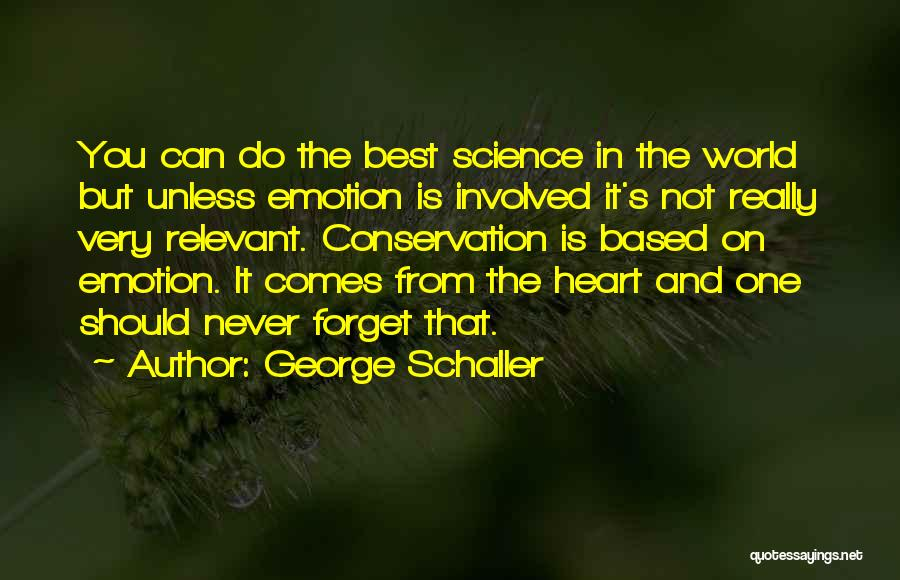George Schaller Quotes 2113519