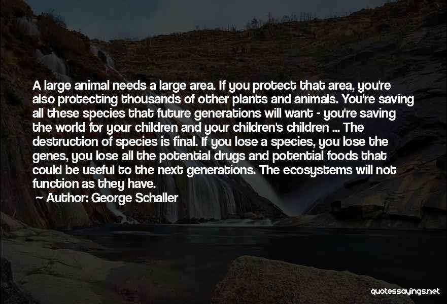 George Schaller Quotes 744900
