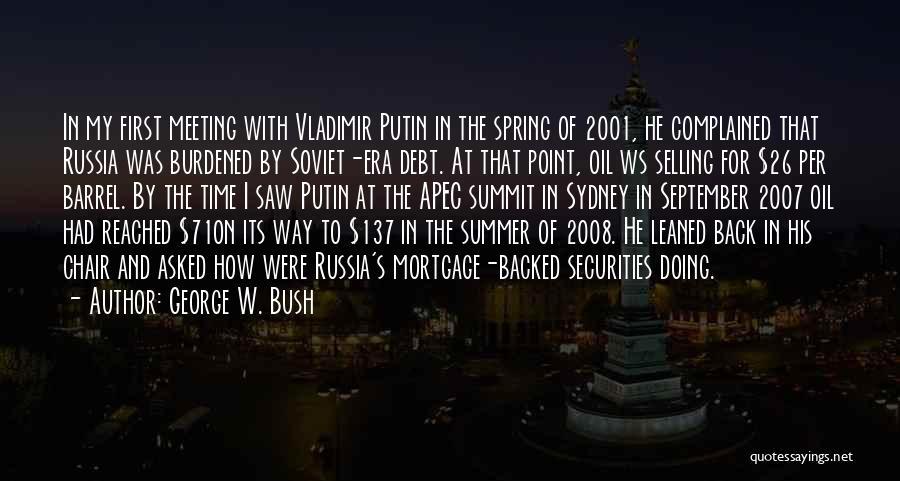 George W. Bush Quotes 1688602