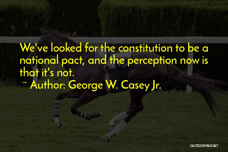 George W. Casey Jr. Quotes 350428