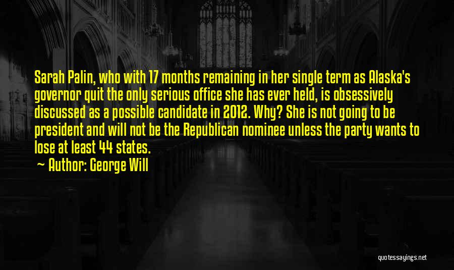 George Will Quotes 175816