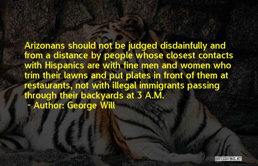 George Will Quotes 397370