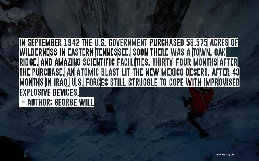 George Will Quotes 497409