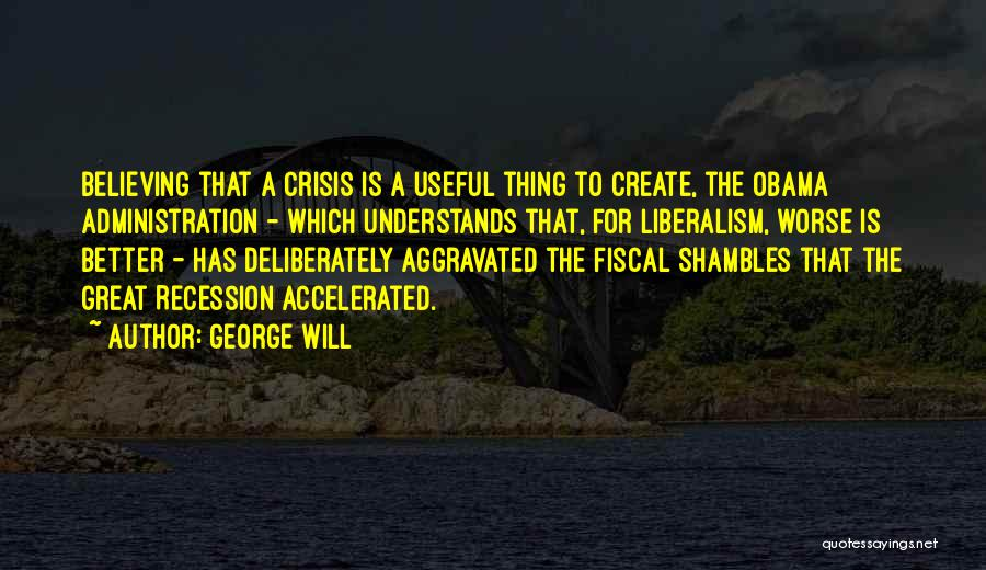 George Will Quotes 811280