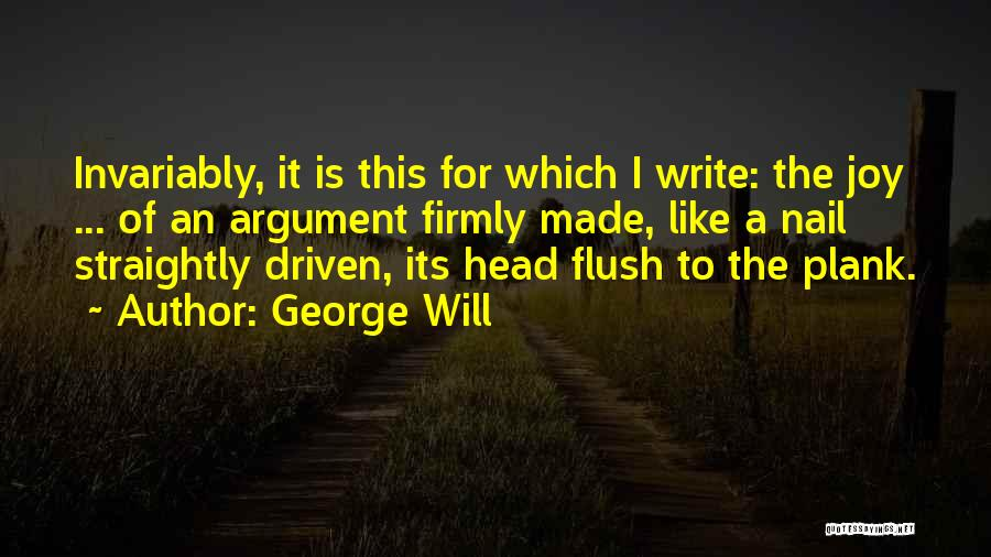 George Will Quotes 893812