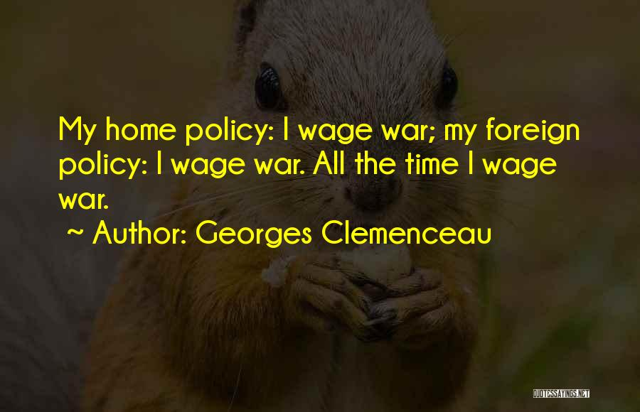 Georges Clemenceau Quotes 350299