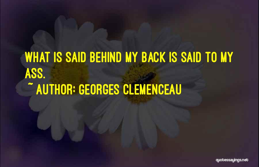 Georges Clemenceau Quotes 638853