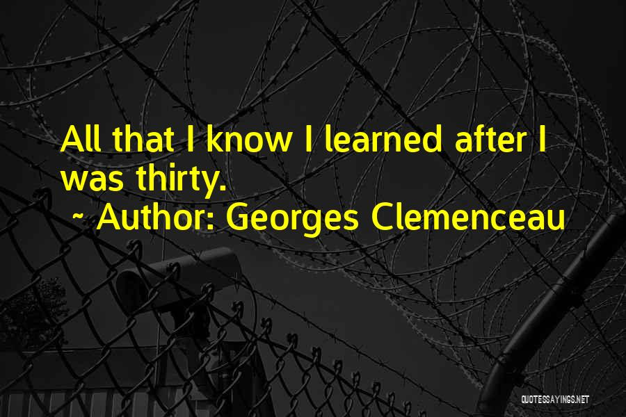Georges Clemenceau Quotes 639351