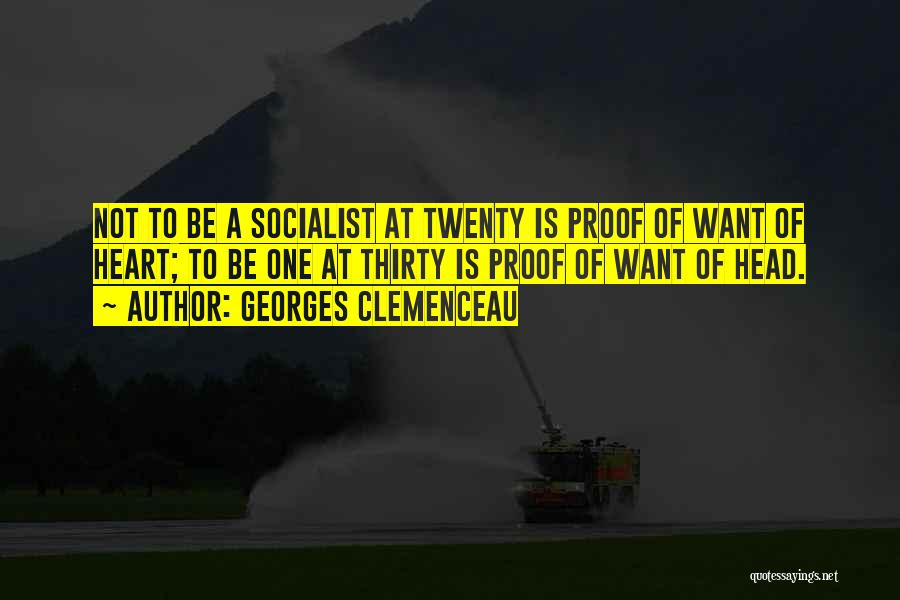 Georges Clemenceau Quotes 804321