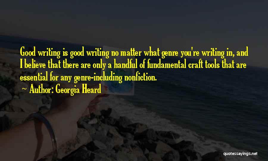 Georgia Heard Quotes 1626896