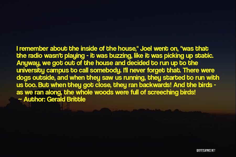 Gerald Brittle Quotes 487122