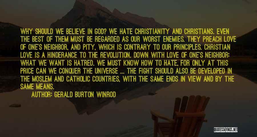 Gerald Burton Winrod Quotes 2079478
