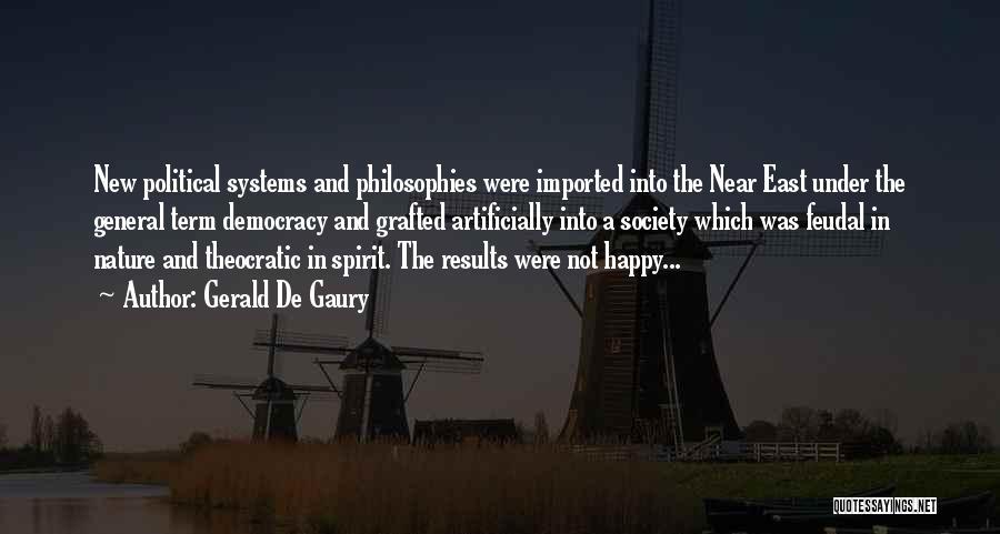Gerald De Gaury Quotes 173532