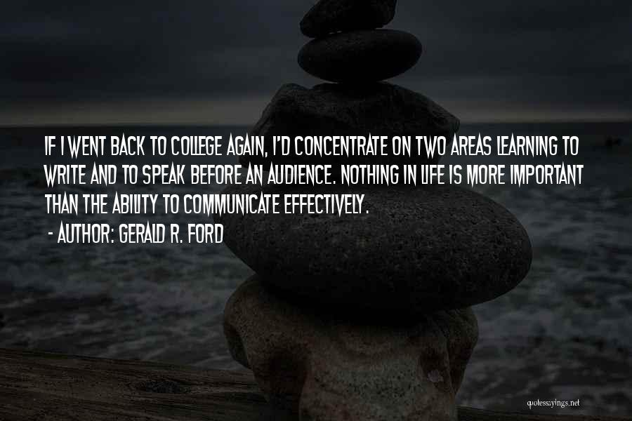 Gerald R. Ford Quotes 1041783