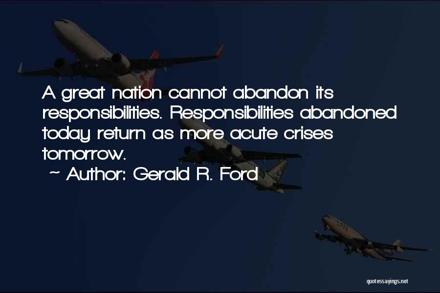 Gerald R. Ford Quotes 1055665