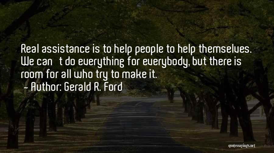 Gerald R. Ford Quotes 1118465