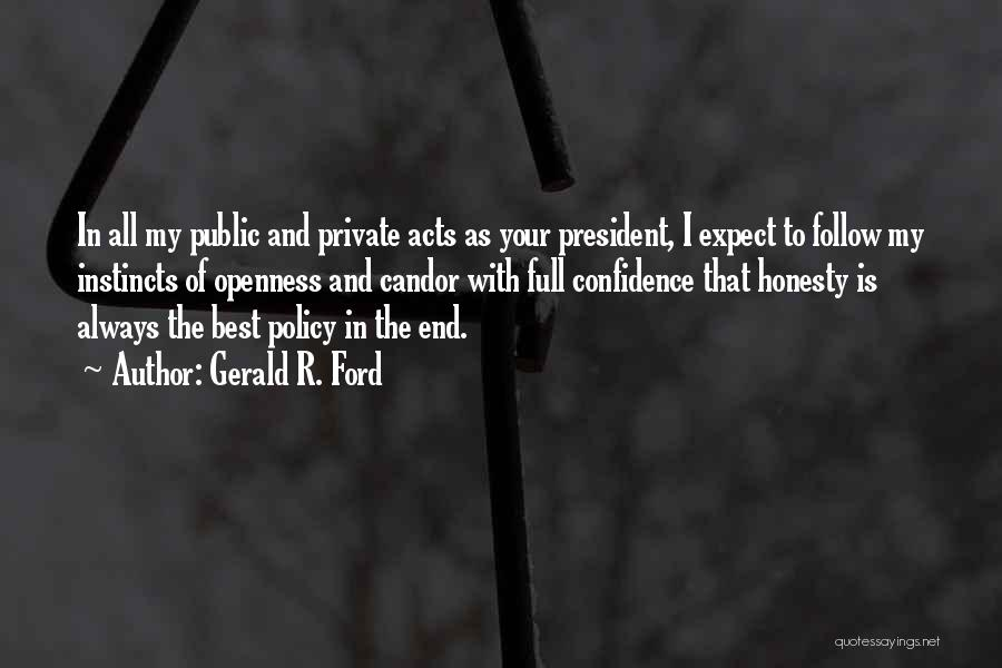 Gerald R. Ford Quotes 1141281