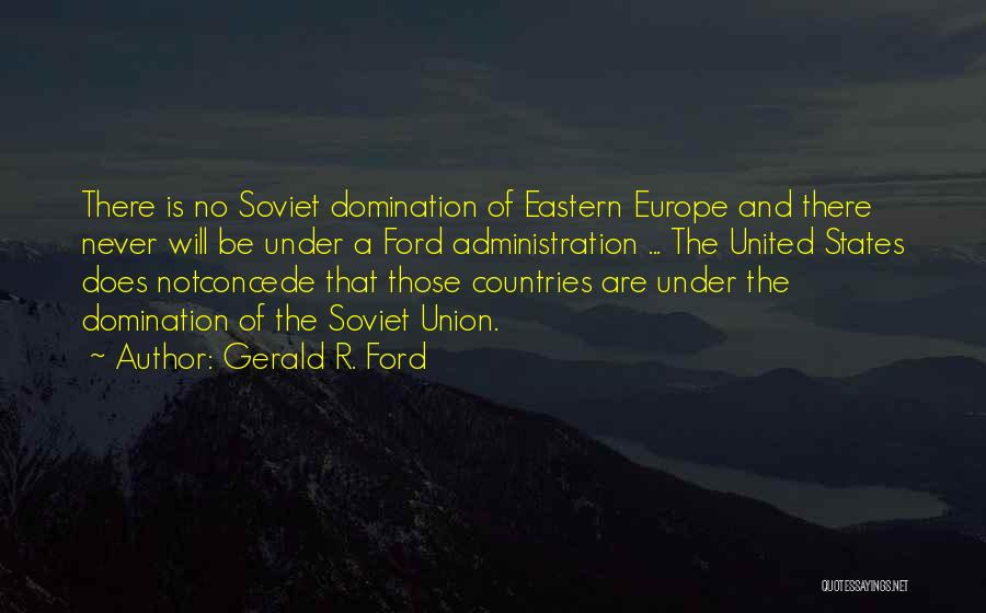 Gerald R. Ford Quotes 161376