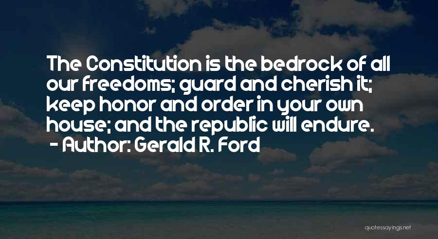 Gerald R. Ford Quotes 2155935