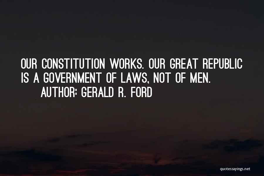 Gerald R. Ford Quotes 236265