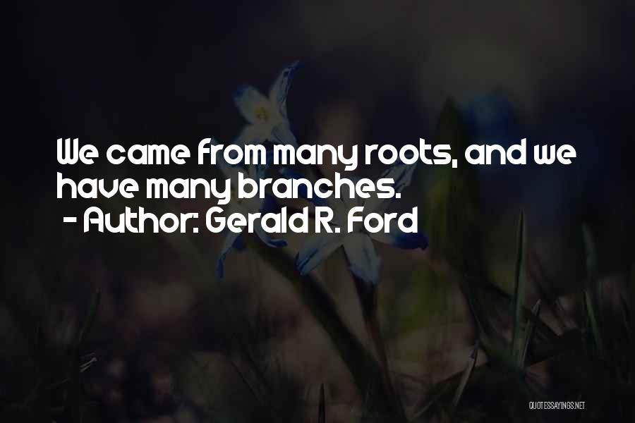 Gerald R. Ford Quotes 382991