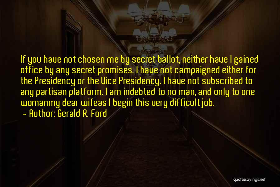 Gerald R. Ford Quotes 644668