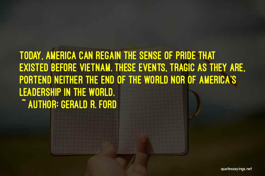 Gerald R. Ford Quotes 696104