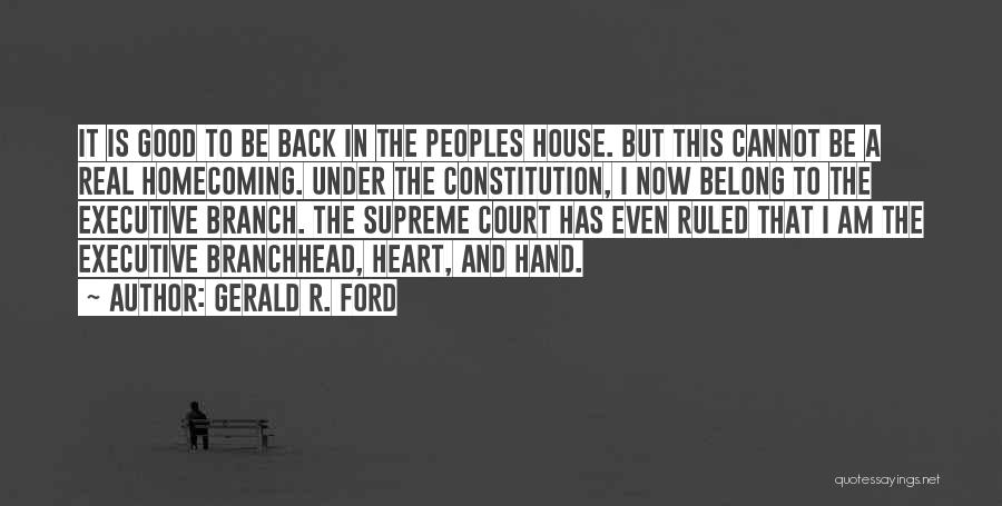 Gerald R. Ford Quotes 817899