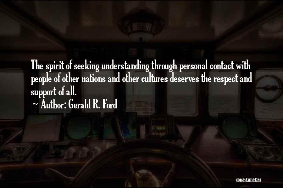 Gerald R. Ford Quotes 942655