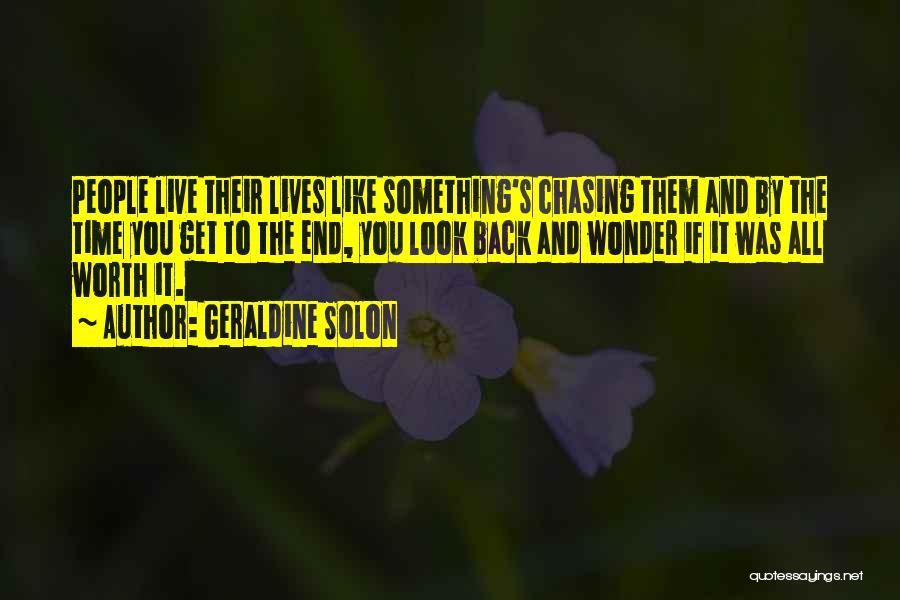 Geraldine Solon Quotes 1219729