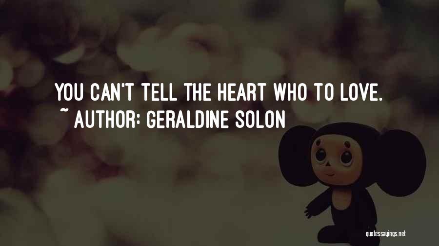 Geraldine Solon Quotes 1416980