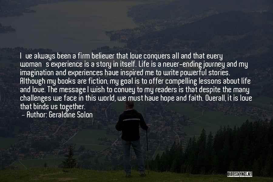 Geraldine Solon Quotes 2021882