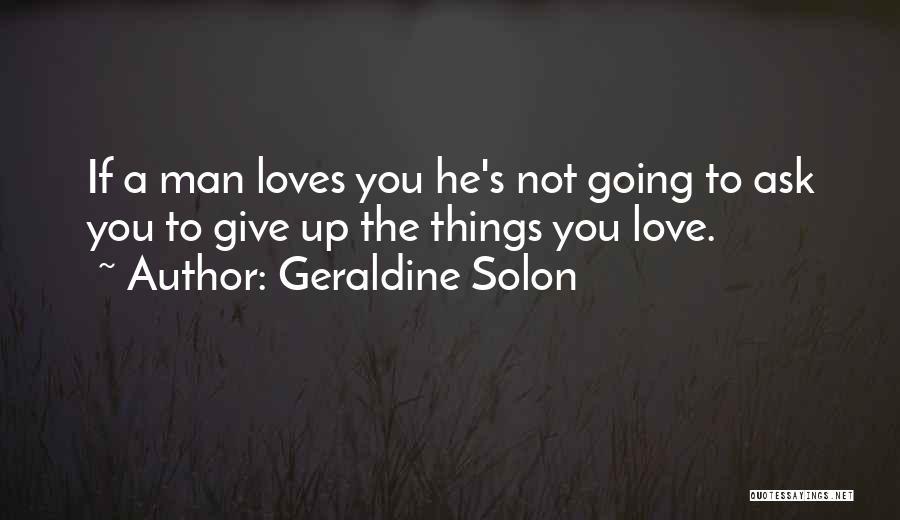 Geraldine Solon Quotes 394964