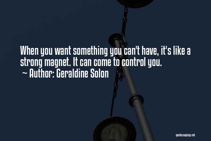 Geraldine Solon Quotes 685338