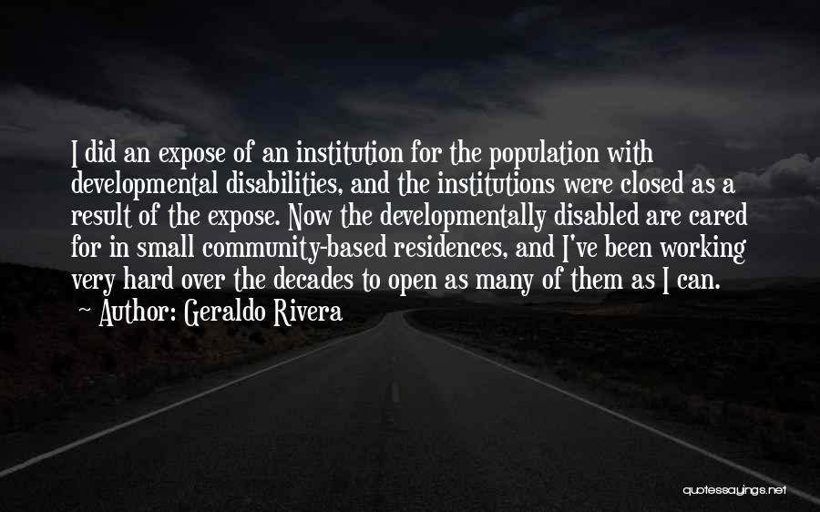 Geraldo Rivera Quotes 1743432