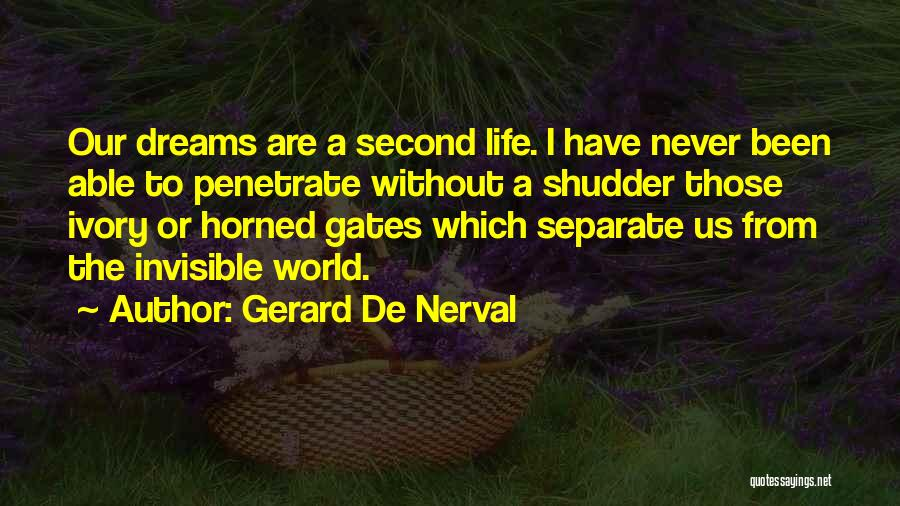 Gerard De Nerval Quotes 354819