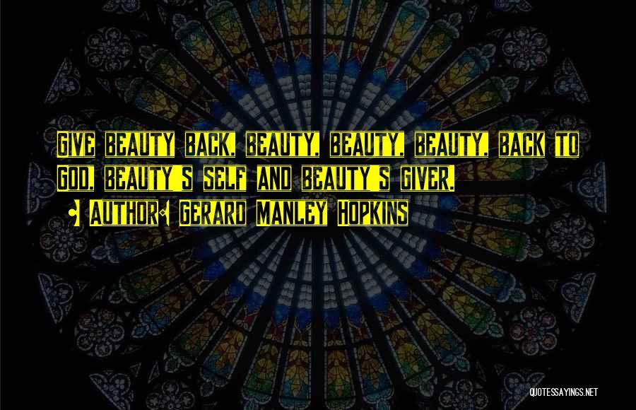 Gerard Manley Hopkins Quotes 1072080