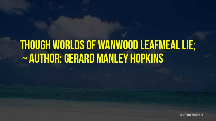 Gerard Manley Hopkins Quotes 1251948