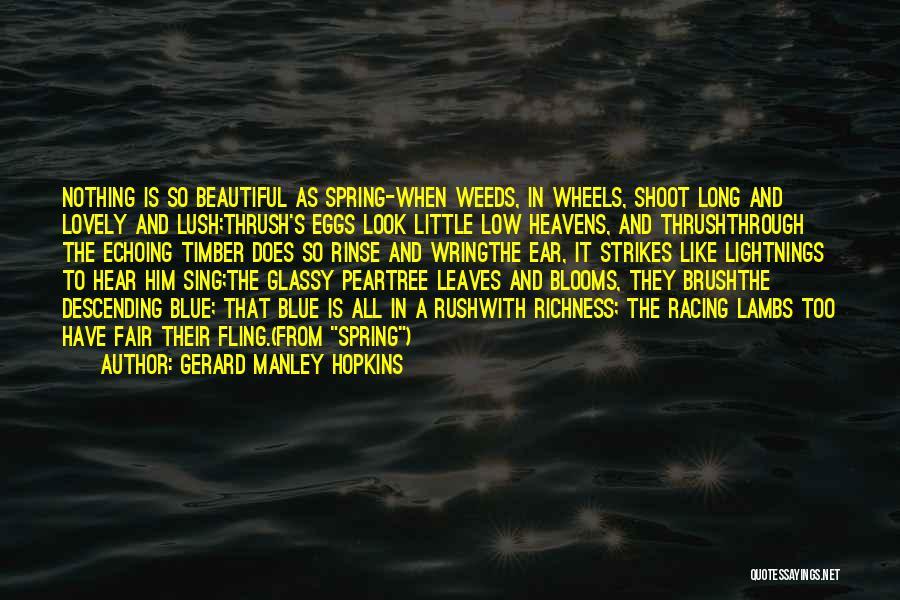 Gerard Manley Hopkins Quotes 148730