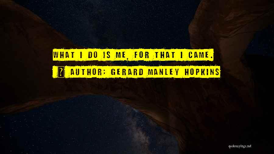 Gerard Manley Hopkins Quotes 1630470