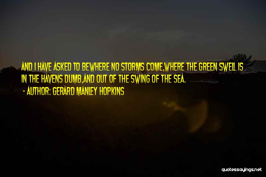 Gerard Manley Hopkins Quotes 165974